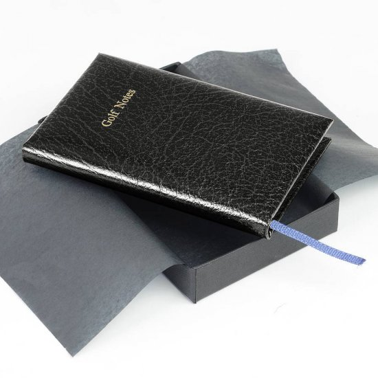 Pocket Leather Golf Score Book - Click Image to Close